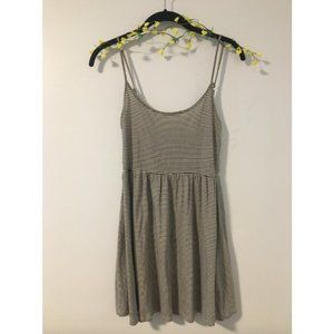 Garage striped mini dress